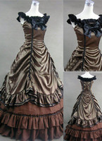 Wholesale Hot Sale Gothic Victorian Ball Gown Costume Victorian Dress Costume