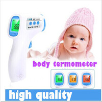 Wholesale New high quality non contact digital lcd baby fever thermometer suitable for use baby child adult body termometer