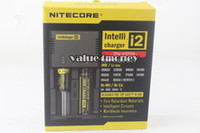 Wholesale Nitecore I2 Universal Charger for Battery E Cigarette in Muliti Function Intellicharger Rechargerable