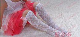 Wholesale Brand New Hot Fashion Kids Socks Korean Style Hot Sale Girl Princess Socks Bowknot Laciness High Qaulity Base Mid Calf Length Sock