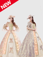 bell war - Noble Royal Palace Marie Antoinette Civil War Medieval Renaissance Victorian Ball Gown Costume Southern Belle Ball Dress