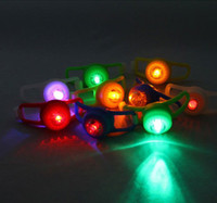 Wholesale Protable Silicone Frog Light LED Bicycle Flash Lights
