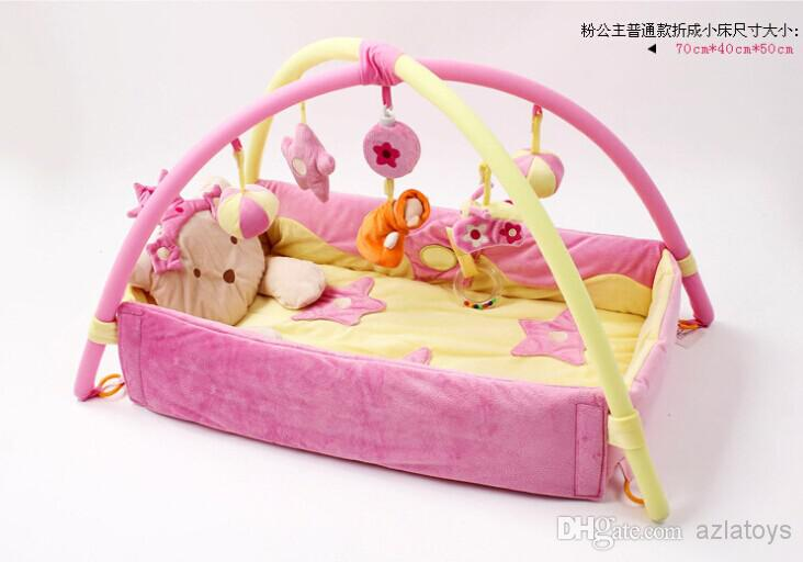 Toys For Girls Product : Princess baby play mat sleeping game girl