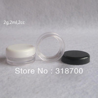 Wholesale g PS Cream Jar Cosmetic Container Sample Jar Display Case Cosmetic Packaging