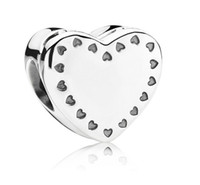Cheap 2014 New Collection Sterling Silver And 14CT Gold Heart Box Charm With Ring Charm Inside Fit European Pandora Bracelet