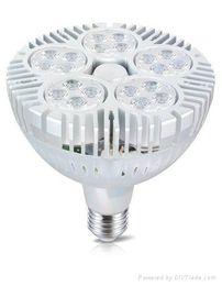 Wholesale Osram Cree LED PAR38 W LED Spotlight Par led bulb with Fan for jewelry lighting clothing lighting gallery lighting museum lighting