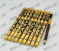 Pencil make up factory - Factory Direct Pieces New Leopard New Professional Make up Eyebrow Pencil amp Brush Black Brown