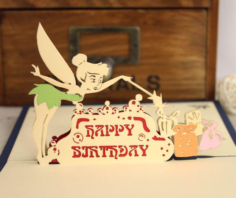 Novelty Birthday Cards Christmas New Year Fairy Gift Handmade – Birthday Cards Craft