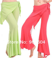 Cheap 2014 NEW Fashion Womens Yoga Tribal Belly Dance Costume Fittness Sport Yoga Pants for Ladies Girls Trousers Pant