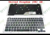 Nouveau clavier d'ordinateur portable pour la série-SR VGN Vaio Sony (avec Silver Frame) Version Noire UK - 148090111
