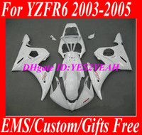 Wholesale Motorcycle Fairing kit for YAMAHA YZFR6 YZF R6 YZF R6 YZF600 R6 Complete white Fairings set gifts