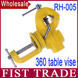 Wholesale Upscale movable table vise can be rotated degrees RH mini upscale vise