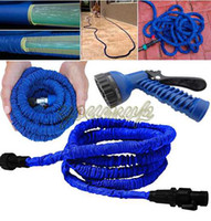 garden hose - Expandable Flexible hose Water Hose Garden Pipe with spray nozzle FT FT FT FT Magic hose DHL free