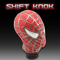 Wholesale Universal Car Truck Manual Gear Stick Shift Shifter Lever Knob Carved Spider Man