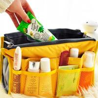 Wholesale Nylon Travel Handbag Makeup Cosmetic Organizer Storage Net Case Insert Pouch Bag