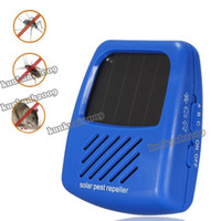 Wholesale Solar Electronic Ultrasonic Panel Sun Powered Mobile Mosquito Rodent Mouse Mice Rat Cockroach Pest Control Repeller Chaser