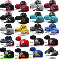 Snapbacks Unisex Embroidered wholesale Adjustable Brand new women's men's Snapback caps Basketball Hockey Football baseball hat 500 models drop shipping