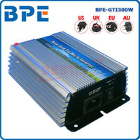 Wholesale 300W Micro Grid Tie Power Inverter for Solar Panel VDC Pure Sine Wave Inverter with MPPT Function