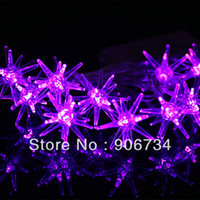 Wholesale New Arrival Outdoor Fairy LED Star String Light Lamp For Christmas Garden Wedding Party on Sale