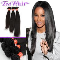 Wholesale Malaysian Virgin Hair Straight quot quot Mixed Length Colorfulday Malaysian Hair Bundle Hair Product Black Color
