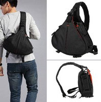 Wholesale DSLR SLR Digital Sling Camera Case Shoulder Bag for NIKON CANON SONY Triangle