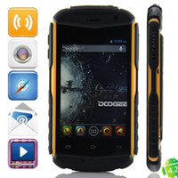 Wholesale New Arrival Doogee TITANS DG150 quot MTK6572 Dual core Dual SIM card Android Dual Camera G Cell phone Smart Phone Mobile Phone