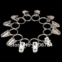 Wholesale Hot Sell Window Shower Curtain Stainless Steel Rod Clips Rings Drapery Clips