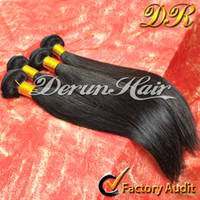Wholesale 6A Peruvian Malaysian Indian Brazilian Virgin Hair Extensions Unprocessed Human Hair Weave Straight Hair Weft Bundles