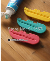 Wholesale Toothpaste Tube Squeezer Easy Press Dispenser Crocodile LX285