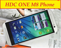 Wholesale 1 HDC One M8 Quad Core MTK6582 Android KitKat inch Smart Phone GHz GB GB G WCDMA GPS Single Micro Sim Card MP Camera