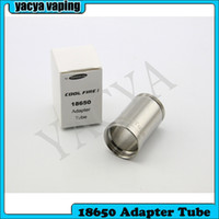 cool fire 1 18650 adapter tube   Instock Innokin Cool Fire 1 18650 Adapter Tube Stainless Steel Extension Tube For Coolfire 1 Body Free Shipping 50pcs lot