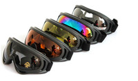 Wholesale UV protection PC motorcycle goggles g outdoor sports eyewear sandstorm prevent foggy against ski spectacles