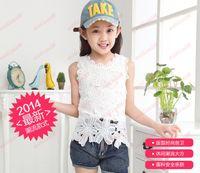 Girl Summer  Hot Sale New Children Tank Tops Girl Shirt Summer Tank Tops Kids Tshirts Child Clothing Girls Condole Belt Child Tank Tops