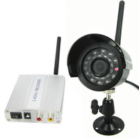Wholesale 4 Channel TVL Wireless Video Audio CCTV Camera Receiver Support Waterproof Infrared Night Vision