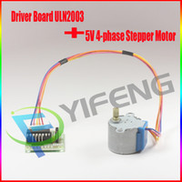 Yi Feng science   5V 4-phase Stepper Motor+ Driver Board ULN2003 for_Arduino 1x Stepper motor +1x ULN2003 Driver board