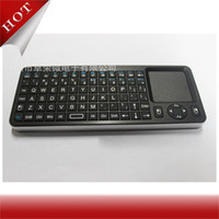 Wholesale Mini Handheld GHz Wireless Keyboard Fly Air Mouse Remote Control Black For Android TV Box PC