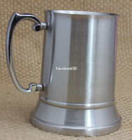beer tankard metal - Retail and wholesales OZ Double Wall Stainless Steel Tankard stainless steel beer mug