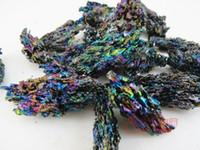 aluminum carbide - 100gNatural silicon carbide colorful nunatak colorful ore peacock nunatak decoration ore