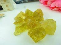 bamboo raw materials - Natural yellow crystal nunatak yellow crystal yellow crystal drupelets raw material sculpture g