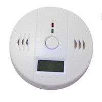 Wholesale warning alarm Independent Sensor Carbon Monoxide Gas Sensor CO Detector Alarm with LCD Display cctv224