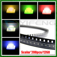 Wholesale color Withe Blue jade Green Yellow Red SMD LED Ultra Bright LED
