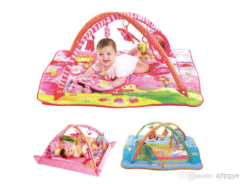 Baby Floor Toys : Baby toy music play mat gym infant floor blanket