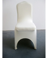 Wholesale shipping free good quallity white spandex chair cover