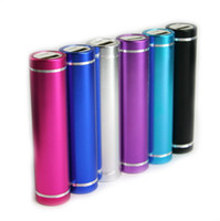 Wholesale 2600mAh External Battery Charger Portable USB Power Bank Charger for iPhone S iPod Sumsung HTC with Retail Package Hot Sales