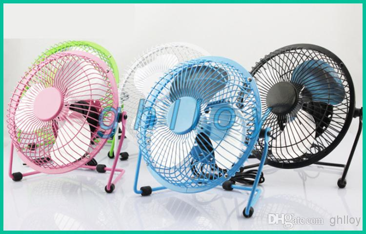 Small Aluminum Fan Blades : Mini portable usb cooler cooling fan full metal aluminum