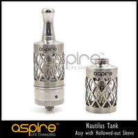 Wholesale original aspire ml nautilus tank assy with hollowed out sleeve for aspire nautilus tank