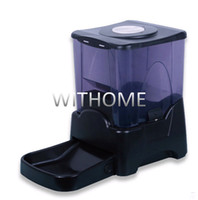 Wholesale 45 cups L Large Capacity Automatic Built in Clock moistureproof dog cat pet food feeder