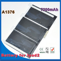 Wholesale Original Tablet PC Battery Replacement Part Build in Battery mAh For iPad2 iPad Battery Factory