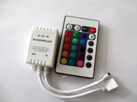 Wholesale LED V IR LED Remote controller RGB key A dimmer