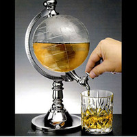 Wine Pourers Metal Bar Accessories Creative simulation globe water dispenser, mini beer machine, new drink machines, fashionable bar points wine